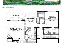 hus med overbygd veranda
