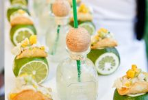 {SBD} The Cocktail Hour / Signature drinks, passed hor d'oeuvres, lounge seating... ideas to make your wedding guests comfortable and cocktailed. / by Sadie Bloom Designs