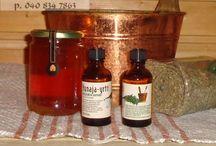 Sauna aromas / Löylytuoksut