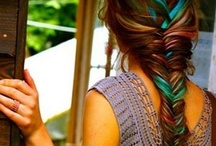 Colorful hair / by Kenzie Bengtson