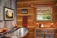 Cabin Bathroom Ideas