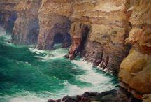 Southern California Impressionism / Early Southern California Impressionist paintings executed between 1870 and 1940