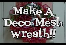 How to make wreath