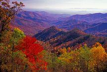 Where I live--the Shenandoah Valley in Va.