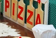 decoração festa pizza