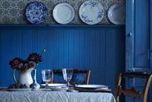 colorful blue