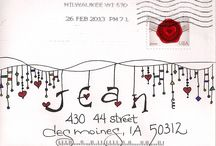 Arty Envelopes