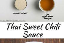 Recipes: Sauces, Etc.