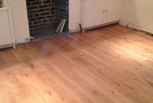 Living Room In Oak Wood / Client: Private Residence In North London Brief: To supply & install wood in living room.