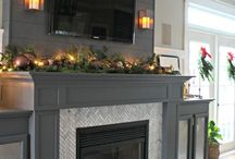 Gorgeous fireplaces