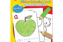 Orchard Toys Colouring Books