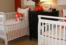 Baby Nursery / Because there are two of them.  TWO OF THEM!!! / by Casey Elliott