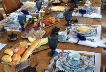 Mesas decoradas / Como organizar uma mesa