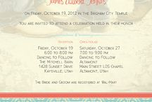 Invite wording