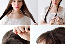For my All girlies. Who needs ideas for hairstyle quick and easy.