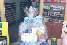 La Vega Baby Boxes & Diaper cakes / Nuestras cestas y canastillas personalizadas para bebés y mamás