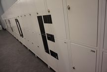 Gym Lockers - projects / ATEPAA offers unusual manufacturing solution for gym & sport facilities interiors. Gym lockers, bespoke furniture, bespoke reception desks, upholstery furniture, benches.