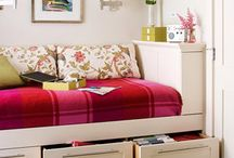 Window Seat Inspiration / trend home style window seat day bed storage ideas