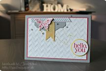 Regarding Dahlias - Stampin' Up! / by Sarah Piggott