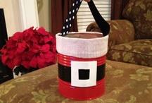 Christmas Tin Can Crafts