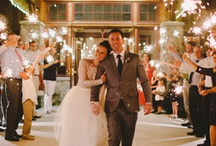 Sparkler Sendoffs We Love! / Created by: San Diego Events Company Intern Sierra Richter