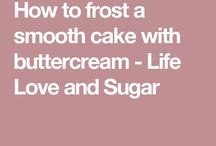How to make smoot cake with butter cream
