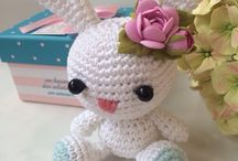 my crochet toys / knitted toys made by my hands