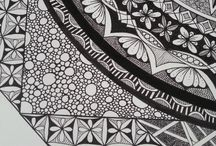 Zentangle and other doodles