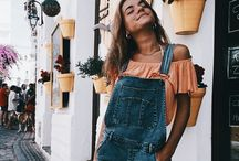 Outfits jardineros