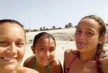 Rocío, Alba y Leire.