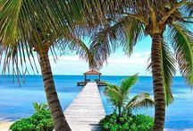 Belize on the shore / Belize Coastal areas