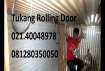 JUAL SERVIS FOLDING GATE ROLLING DOOR MESIN 081280350050 MURAH JAKARTA