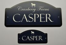 Horse Stall Name Plate