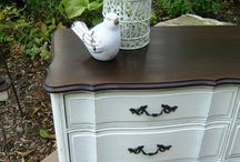 French painted dressers