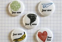 Mini badges 25 mm