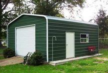 Sheds / Display of the different sheds GarageBuildings.com Sells