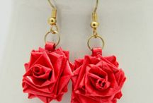 quilling to wear / paper jewellery