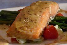 Côté gastronomie  / Recettes, tables, recevoir, restaurants, couleurs dans mon assiette.