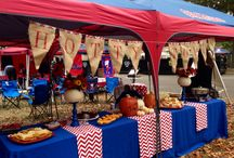 Oxford Grove Tailgating Recipes / The food in the Grove on gameday is absolutely amazing. Tents compete to have the best tailgating food on Oxford, Mississippi Football Saturdays. Find your Grove tailgating recipes today for your tailgate!