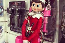 Cally the Naughty Elf on the Shelf