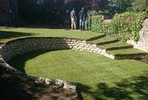 zahrada steny