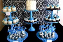 Blue party ideas