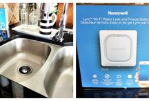 Lyric Wi-FI Water Leak and Freeze Detector by Honeywell