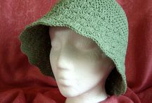 Crochet - Hats / by Laura Hubbell