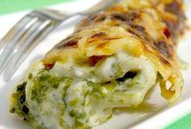 cannelloni aux épinard et mascarpone