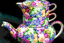 Tea Time, cups, cakes & China / Variety of interesting tea time cups, cakes, & china / by Rhonda The Realtor