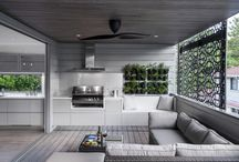 Outdoor room and pool / House renovation ideas for outside