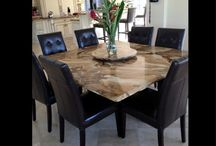 stone tables / natural stone table tops