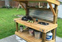 Bucătării exterior