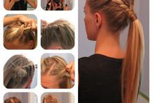 Easy hair projects